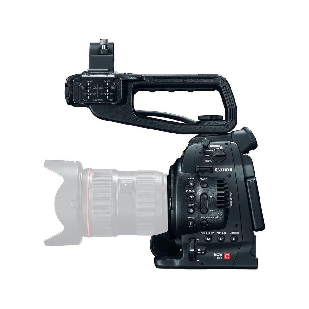 Canon EOS C100 (Solo cuerpo) - Cmara de cine Super 35mm