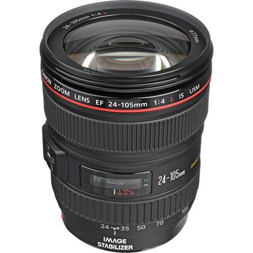 Objetivo Canon EF 24-105 MM F:4L IS USM