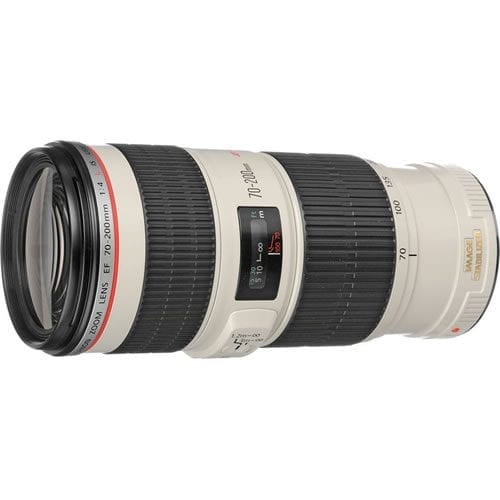 Objetivo Canon EF 70-200 MM F:4L IS USM
