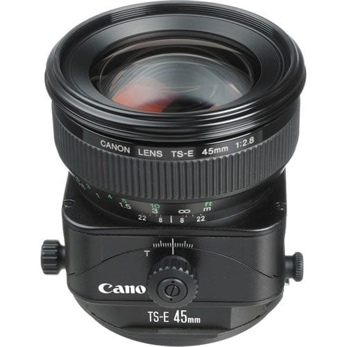 Objetivo Canon TS-E 45 MM F:2.8