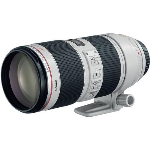 Objetivo Canon EF 70-200 MM F:2.8L IS II USM
