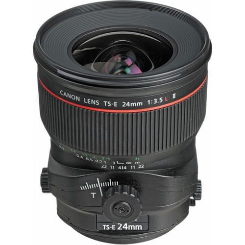 Objetivo Canon TS-E 24 MM F:3.5L II