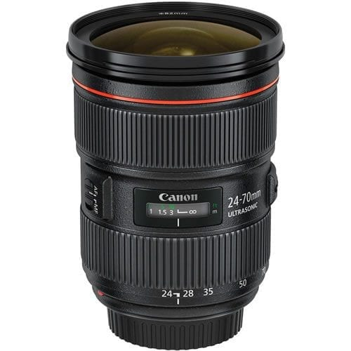 Objetivo Canon EF 24-70 MM F:2.8L II