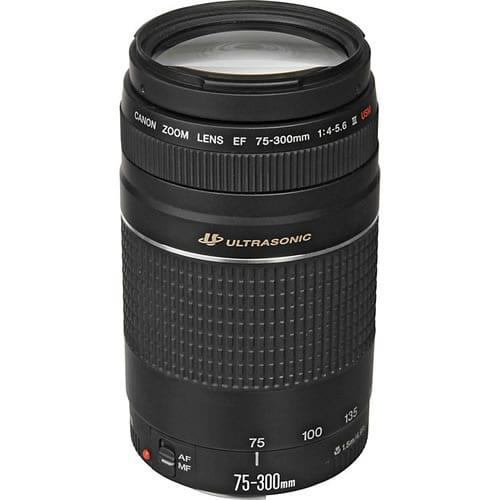 Objetivo Canon EF 75-300 MM F:4-5.6 III USM