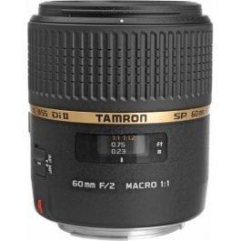 Objetivo Tamron SP AF 60mm F/2.0 Di II LD [IF] Macro 1:1