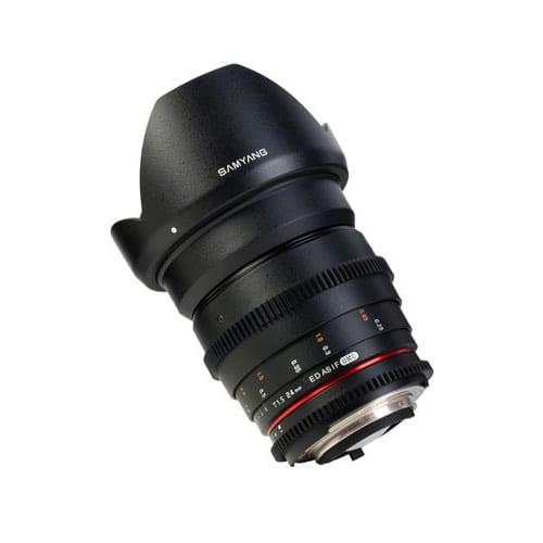 SAMYANG 24 mm T1.5 VDSLR II