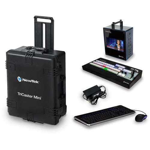 NewTek TriCaster Mini SDI CS Bundle