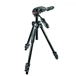 Manfrotto MK290LTA3-3W - Kit Trípode 290 Light con rótula 3W - Aluminio