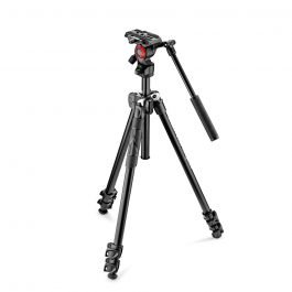 Manfrotto MK290LTA3-V - Kit Tripode 290 Light con rótula de vídeo