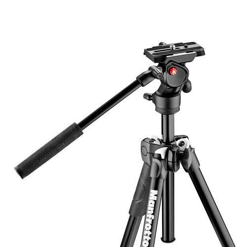 Manfrotto MK290LTA3-V - Kit Tripode 290 Light con rótula de vídeo