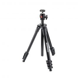 Manfrotto MKCOMPACTLT-BK - Trípode Compact Light negro