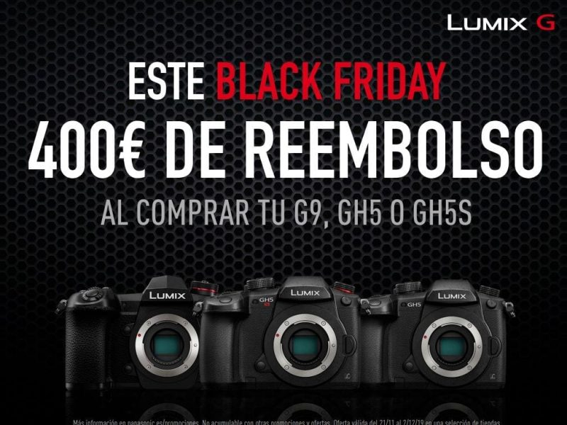 Banner Panasonic Lumix G BlackFriday