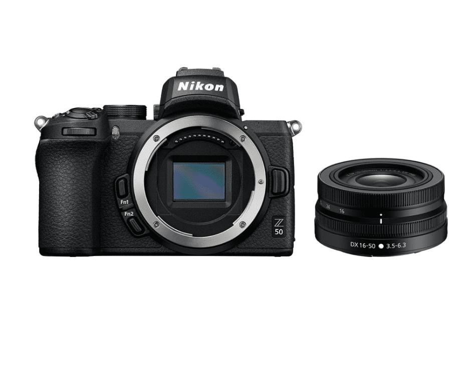 Nikon z50 + 16-50